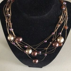 Chico's memory wire necklace